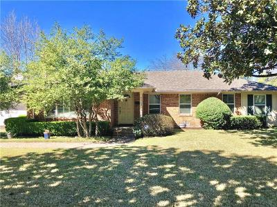 Dallas County, Denton County, Collin County, Cooke County, Grayson County, Jack County, Johnson County, Palo Pinto County, Parker County, Tarrant County, Wise County Single Family Home For Sale: 5923 Del Roy Drive