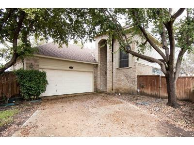 Irving Single Family Home For Sale: 707 Marble Canyon Circle