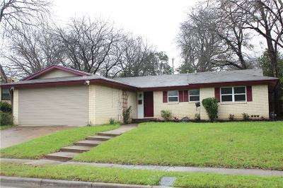 Fort Worth Single Family Home For Sale: 3541 Slade Boulevard