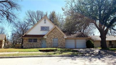 Garland Single Family Home Active Option Contract: 3514 Galaxie Drive