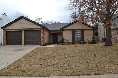 Euless Residential Lease For Lease: 110 Wildbriar Street