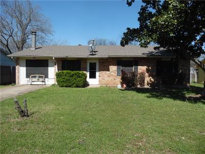 Cedar Hill Single Family Home Active Option Contract: 121 Cambridge Drive