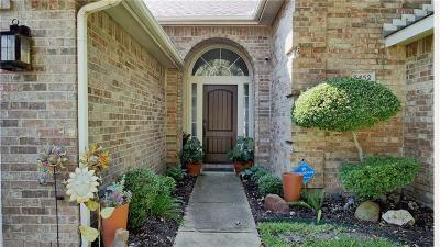 Grand Prairie Single Family Home Active Option Contract: 3452 Braes Meadow Drive