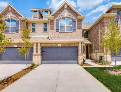 Little Elm Townhouse Active Contingent: 2967 Stunning Drive