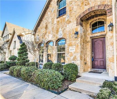 McKinney Townhouse For Sale: 8717 Whitehead Street