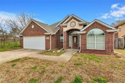 Irving Single Family Home Active Option Contract: 1100 Pearson Street