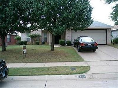 Euless Single Family Home Active Option Contract: 2609 Needles Street