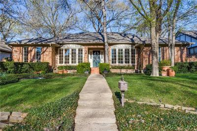 Dallas County Single Family Home For Sale: 8917 Arborside Drive