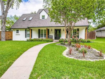 Dallas County Single Family Home For Sale: 11819 Meadowspring Lane