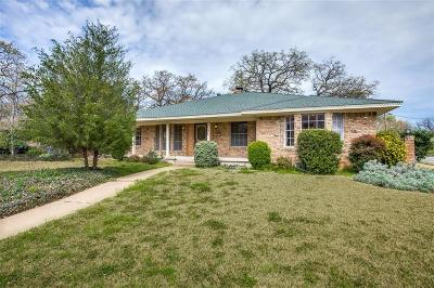 Irving Single Family Home Active Option Contract: 2601 Locksley Chase