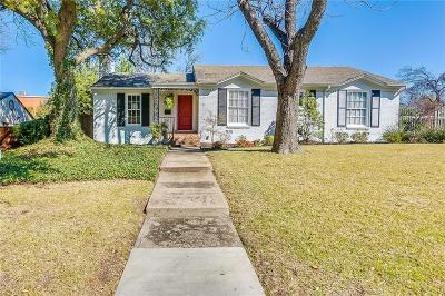 Tarrant County Single Family Home For Sale: 6358 Waverly Way
