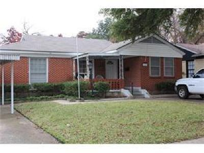 Dallas County Single Family Home For Sale: 11103 Stallcup Drive