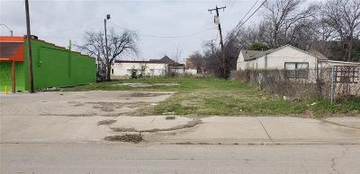 Fort Worth Residential Lots & Land For Sale: 1310 Mc Kenzie Street