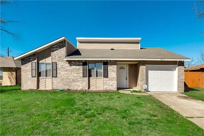 Rowlett Single Family Home For Sale: 6913 Colgate Lane
