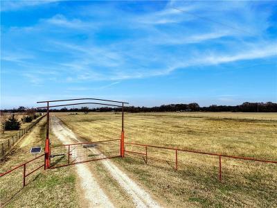 Denton County Farm & Ranch For Sale: 12877 Foutch Road