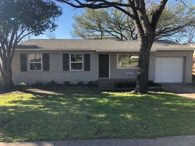 Farmers Branch Single Family Home For Sale: 13929 Montvale Drive