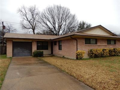 Farmers Branch Single Family Home Active Option Contract: 3255 Longmeade Drive