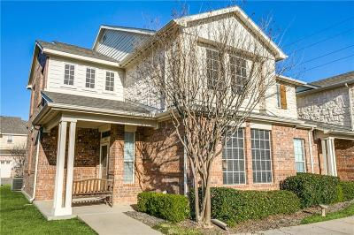Grand Prairie Townhouse For Sale: 2814 Bristo Park Street