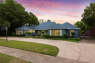 Dallas Single Family Home For Sale: 7212 Briarmeadow Drive