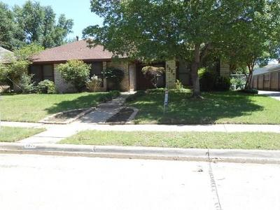 Irving Residential Lease For Lease: 3824 Cheyenne Street