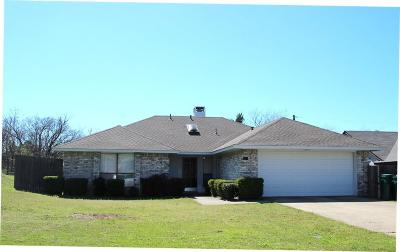 Cedar Hill Single Family Home Active Option Contract: 951 Brookside Drive
