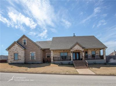 Abilene Single Family Home For Sale: 4009 Hill Country Drive
