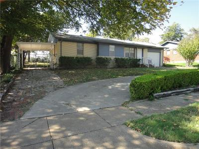 White Settlement TX Single Family Home For Sale: $135,000