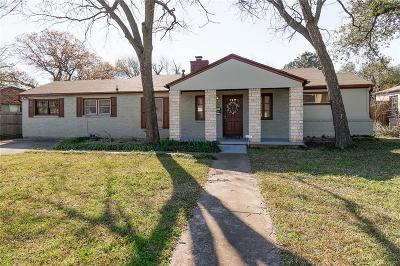 Fort Worth Single Family Home For Sale: 6387 Greenway Road