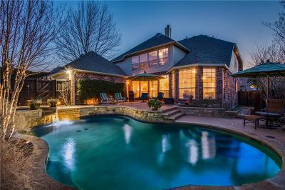 Allen Single Family Home For Sale: 709 Franklin Drive