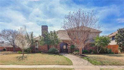 Plano Single Family Home Active Option Contract: 3300 Phaeton Court