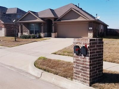 Burleson Single Family Home Active Option Contract: 317 Pin Cushion Trail