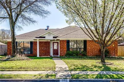 Allen Single Family Home For Sale: 301 S Alder Drive