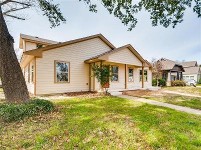 Fort Worth Single Family Home For Sale: 801 Edgefield Road