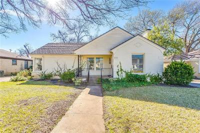 Fort Worth Single Family Home For Sale: 3520 Harwen Terrace