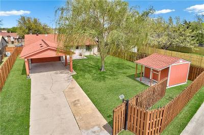 The Colony Single Family Home Active Contingent: 5557 Rice Drive