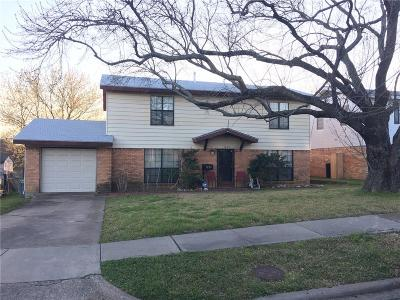 Mesquite TX Single Family Home For Sale: $165,000