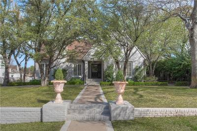Fort Worth Single Family Home For Sale: 505 Alta Drive