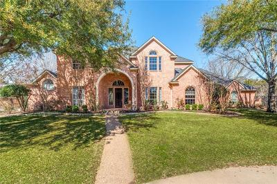 Colleyville Single Family Home Active Contingent: 4706 Mill View Court