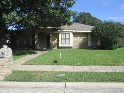 Garland Residential Lease For Lease: 1205 Columbine Drive