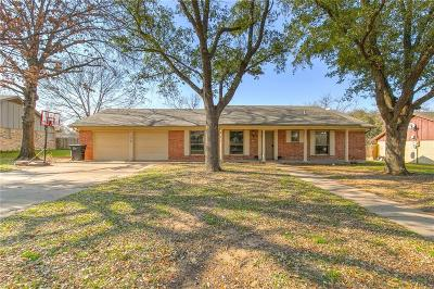 Cleburne Single Family Home For Sale: 1110 Willowcreek Road