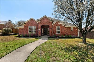Carrollton Single Family Home For Sale: 1608 Brighton Drive