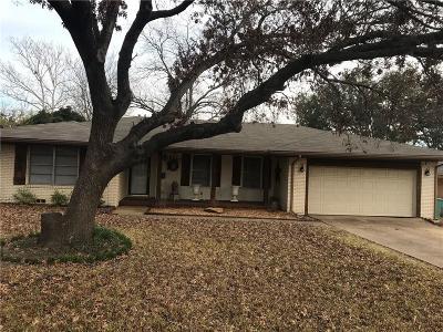 Sherman Single Family Home For Sale: 1418 Robin Drive