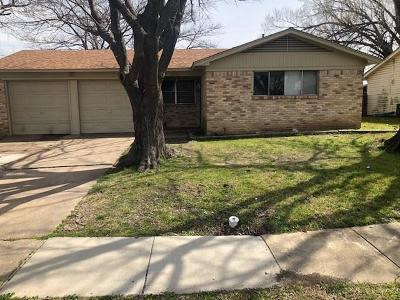 Garland Single Family Home For Sale: 2606 Arcady Drive