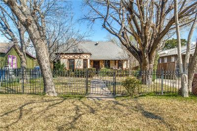 Dallas Single Family Home For Sale: 1219 Stafford Street