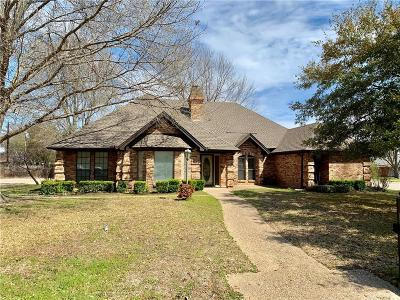 Cleburne Single Family Home Active Option Contract: 914 Canyon Drive