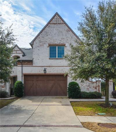 Coppell Townhouse For Sale: 801 Snowshill Trail