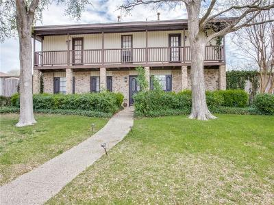 Dallas Single Family Home For Sale: 16808 Old Pond Drive
