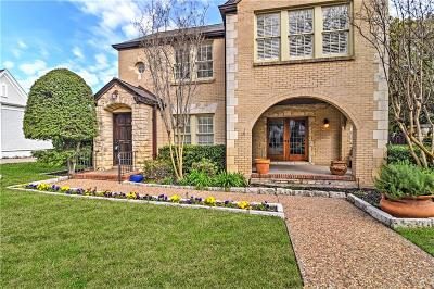 Tarrant County Single Family Home For Sale: 3812 W 4th Street