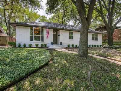 Dallas Single Family Home For Sale: 8846 Sweetwater Drive
