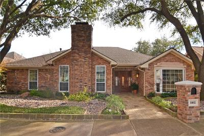 Dallas Single Family Home For Sale: 5802 Over Downs Drive